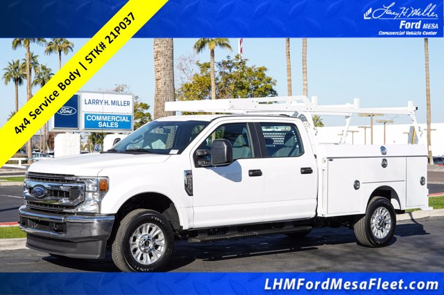 2021 Ford F-350 Crew Cab 4x4, Royal Service Body #21P037 - photo 1