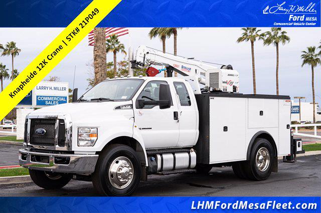 2021 Ford F-750 Super Cab DRW 4x2, Knapheide Mechanics Body #21P049 - photo 1