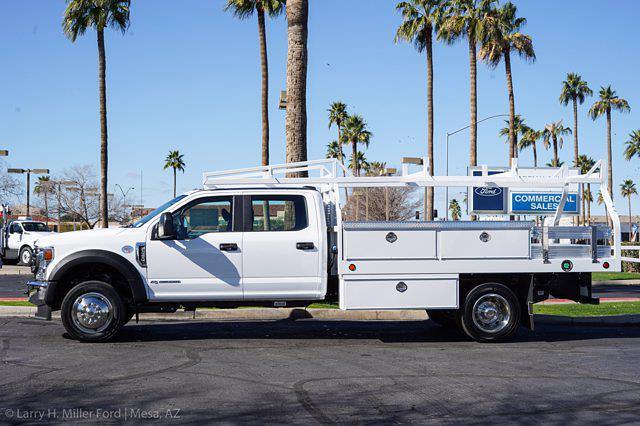 2021 Ford F-450 Crew Cab DRW 4x2, Royal Contractor Body #21P053 - photo 5