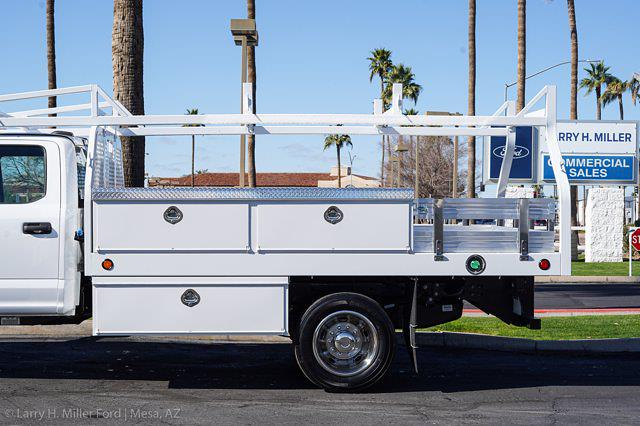 2021 Ford F-450 Crew Cab DRW 4x2, Royal Contractor Body #21P053 - photo 6