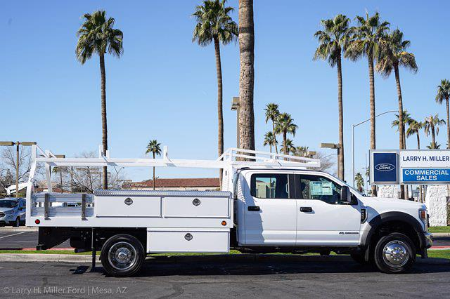 2021 Ford F-450 Crew Cab DRW 4x2, Royal Contractor Body #21P053 - photo 12