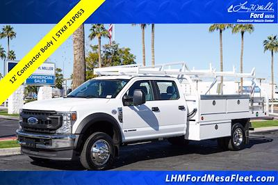 2021 Ford F-450 Crew Cab DRW 4x2, Royal Contractor Body #21P053 - photo 1