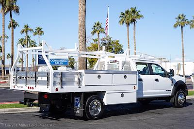 2021 Ford F-450 Crew Cab DRW 4x2, Royal Contractor Body #21P053 - photo 10