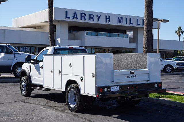 2021 Ford F-600 Regular Cab DRW 4x4, Royal Service Body #21P067 - photo 2