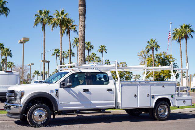 2021 Ford F-450 Crew Cab DRW 4x4, Royal Truck Body Service Combo Body #21P075 - photo 3
