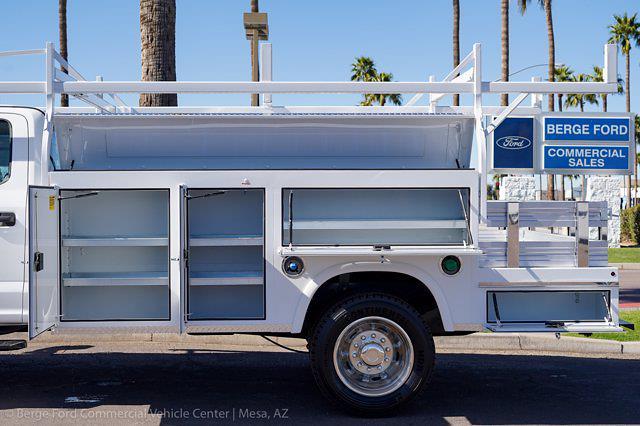 2021 Ford F-450 Crew Cab DRW 4x4, Royal Truck Body Service Combo Body #21P075 - photo 6