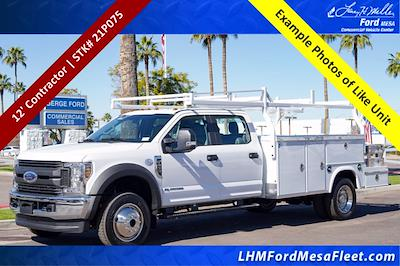 2021 Ford F-450 Crew Cab DRW 4x4, Royal Truck Body Service Combo Body #21P075 - photo 1