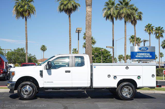 2021 Ford F-350 Super Cab DRW 4x4, Royal Truck Body Service Body #21P083 - photo 2