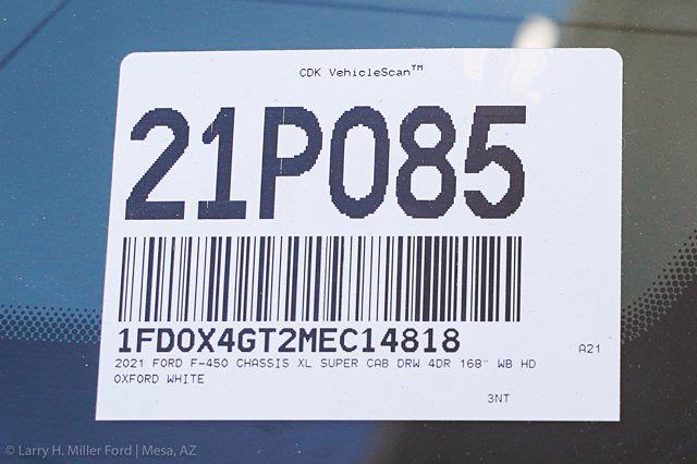 2021 Ford F-450 Super Cab DRW 4x2, Royal Truck Body Contractor Body #21P085 - photo 30