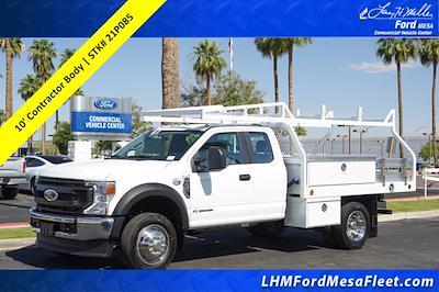 2021 Ford F-450 Super Cab DRW 4x2, Royal Truck Body Contractor Body #21P085 - photo 1