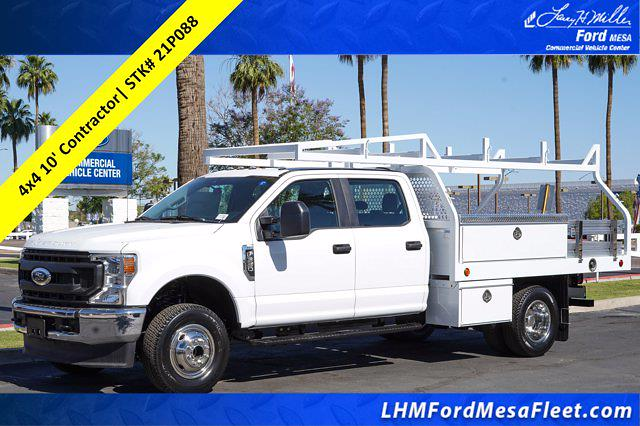 2021 Ford F-350 Crew Cab DRW 4x4, Royal Truck Body Contractor Body #21P088 - photo 1