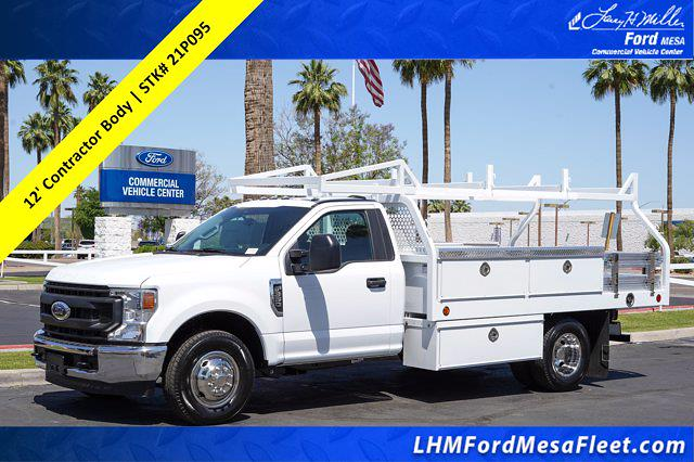 2021 Ford F-350 Regular Cab DRW 4x2, Royal Truck Body Contractor Body #21P095 - photo 1