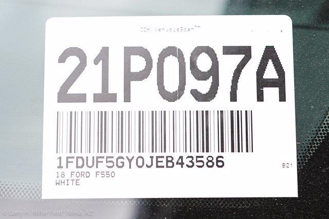 2018 Ford F-550 Regular Cab DRW 4x2, Knapheide Value-Master X Platform Body #21P097A - photo 24