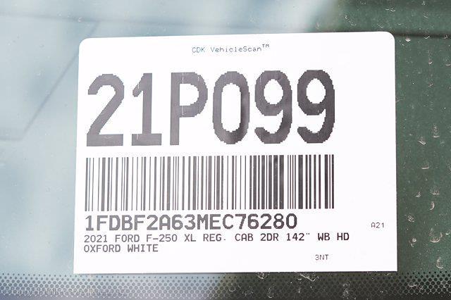 2021 Ford F-250 Regular Cab 4x2, Royal Truck Body Service Body #21P099 - photo 28