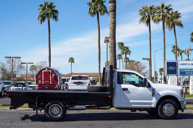 2021 Ford F-350 Regular Cab DRW 4x2, Rugby HD Rancher Platform Body #21P102 - photo 10