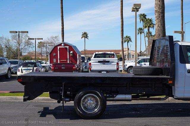 2021 Ford F-350 Regular Cab DRW 4x2, Rugby HD Rancher Platform Body #21P102 - photo 11