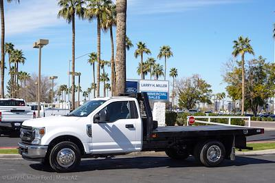 2021 Ford F-350 Regular Cab DRW 4x2, Rugby HD Rancher Platform Body #21P102 - photo 3