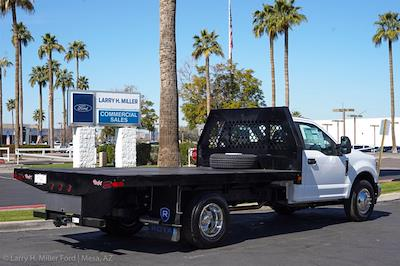 2021 Ford F-350 Regular Cab DRW 4x2, Rugby HD Rancher Platform Body #21P102 - photo 8