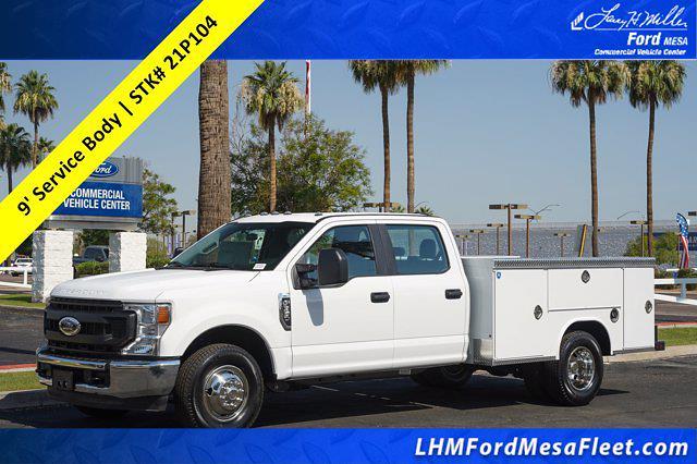 2021 Ford F-350 Crew Cab DRW 4x2, Royal Truck Body Service Body #21P104 - photo 1