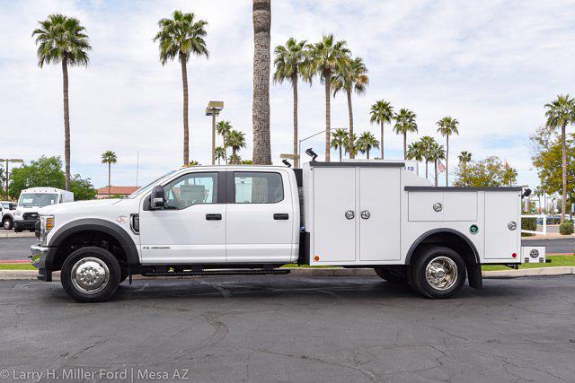 2021 Ford F-550 Crew Cab DRW 4x4, Reading Master Mechanics HD Welder Body #21P114 - photo 5