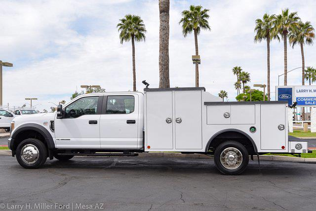 2021 Ford F-550 Crew Cab DRW 4x4, Reading Welder Body #21P114 - photo 1