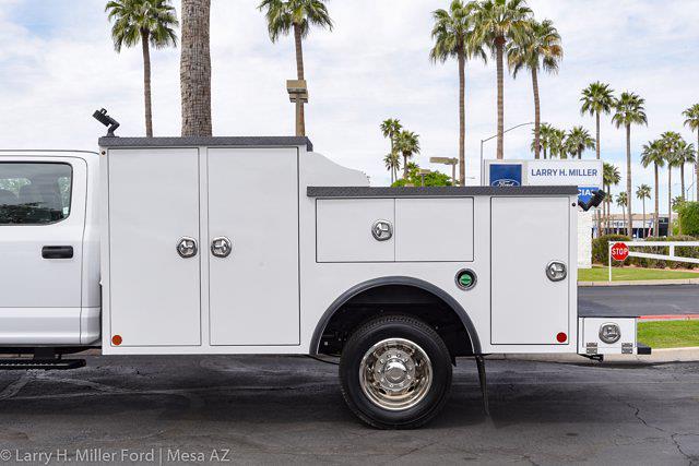 2021 Ford F-550 Crew Cab DRW 4x4, Reading Master Mechanics HD Welder Body #21P114 - photo 6