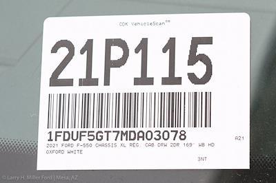 2021 Ford F-550 Regular Cab DRW 4x2, Knapheide PGND Gooseneck Hauler Body #21P115 - photo 27