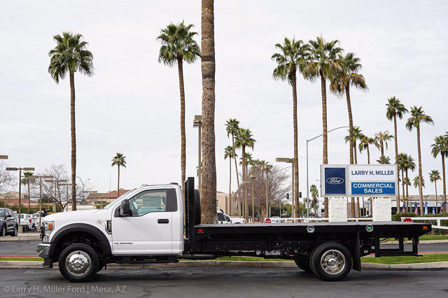 2021 Ford F-550 Regular Cab DRW 4x2, Knapheide Value-Master X Platform Body #21P125 - photo 4