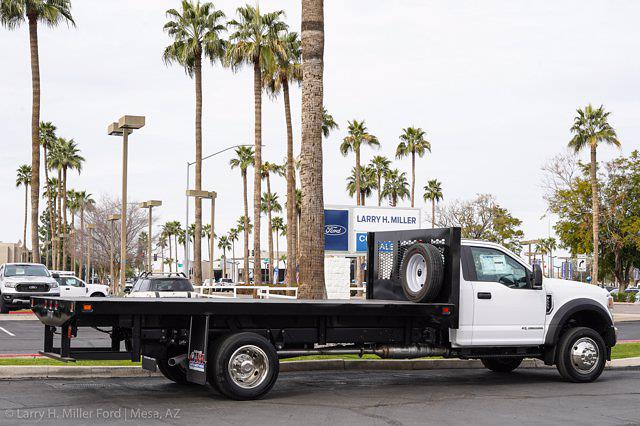 2021 Ford F-550 Regular Cab DRW 4x2, Knapheide Value-Master X Platform Body #21P125 - photo 10