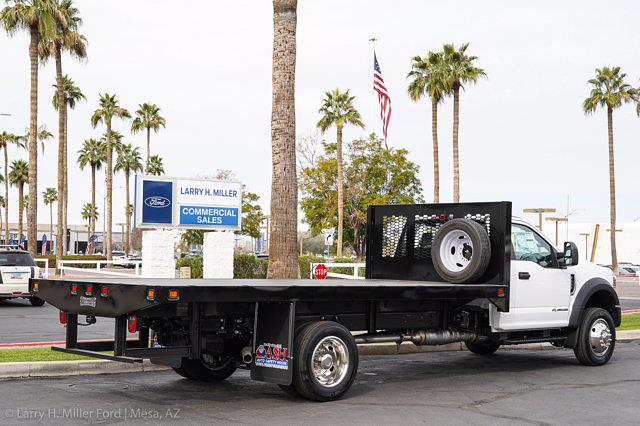 2021 Ford F-550 Regular Cab DRW 4x2, Knapheide Value-Master X Platform Body #21P125 - photo 9