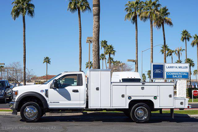 2021 Ford F-550 Regular Cab DRW 4x2, Scelzi Welder Body #21P137 - photo 4