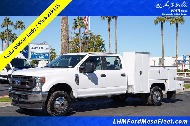 2021 Ford F-350 Crew Cab DRW 4x4, Scelzi Welder Body #21P138 - photo 1