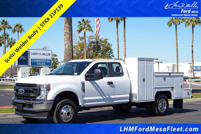 2021 Ford F-350 Super Cab DRW 4x4, Scelzi Welder Body #21P139 - photo 1
