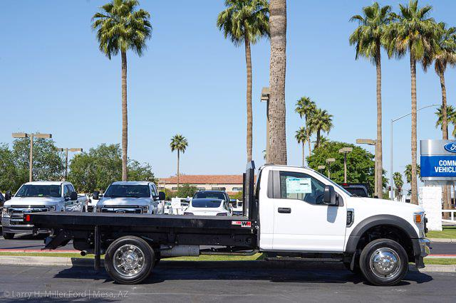 2021 Ford F-450 Regular Cab DRW 4x2, Monroe Work-A-Hauler II Platform Body #21P141 - photo 10