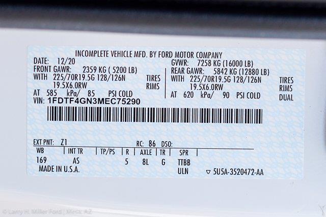 2021 Ford F-450 Regular Cab DRW 4x2, Monroe Work-A-Hauler II Platform Body #21P141 - photo 23