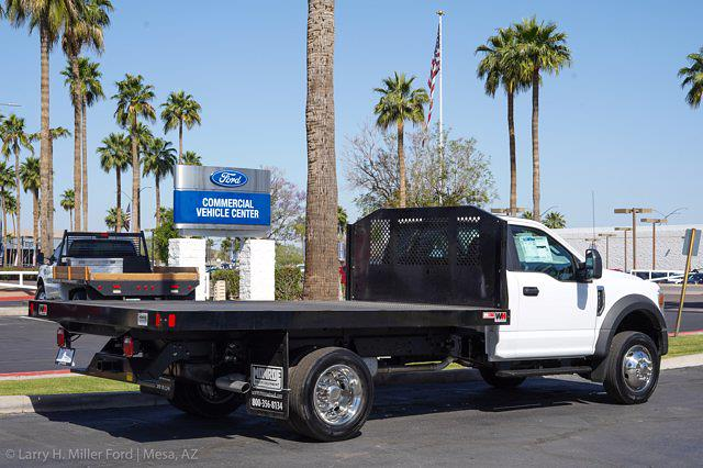 2021 Ford F-450 Regular Cab DRW 4x2, Monroe Work-A-Hauler II Platform Body #21P141 - photo 8