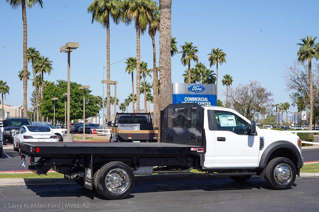 2021 Ford F-450 Regular Cab DRW 4x2, Monroe Work-A-Hauler II Platform Body #21P141 - photo 9