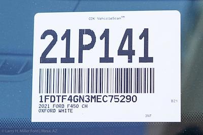 2021 Ford F-450 Regular Cab DRW 4x2, Monroe Work-A-Hauler II Platform Body #21P141 - photo 24