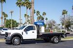 2021 Ford F-450 Regular Cab DRW 4x2, Monroe Work-A-Hauler II Platform Body #21P141 - photo 4