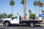 2021 Ford F-450 Regular Cab DRW 4x2, Monroe Work-A-Hauler II Platform Body #21P141 - photo 6