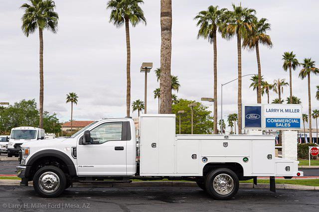 2021 Ford F-450 Regular Cab DRW 4x4, Scelzi Welder Body #21P146 - photo 5