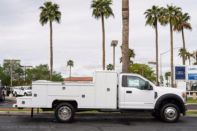 2021 Ford F-450 Regular Cab DRW 4x4, Scelzi Welder Body #21P146 - photo 12