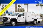 2021 Ford F-450 Regular Cab DRW 4x4, Scelzi Welder Body #21P146 - photo 1