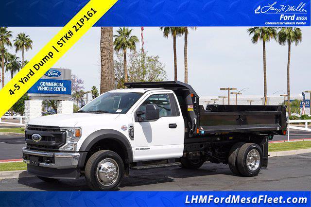 2021 Ford F-550 Regular Cab DRW 4x2, Monroe MTE-Zee Dump Body #21P161 - photo 1