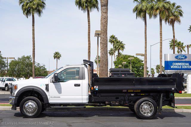 2021 Ford F-550 Regular Cab DRW 4x2, Monroe MTE-Zee Dump Body #21P161 - photo 3