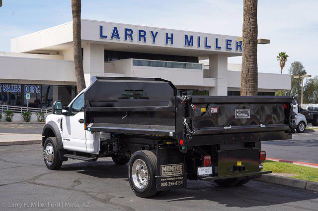 2021 Ford F-550 Regular Cab DRW 4x2, Monroe MTE-Zee Dump Body #21P161 - photo 2