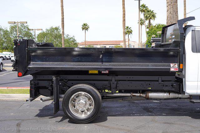 2021 Ford F-550 Regular Cab DRW 4x2, Monroe MTE-Zee Dump Body #21P161 - photo 11