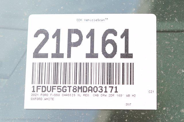 2021 Ford F-550 Regular Cab DRW 4x2, Monroe MTE-Zee Dump Body #21P161 - photo 23