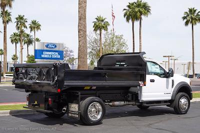 2021 Ford F-550 Regular Cab DRW 4x2, Monroe MTE-Zee Dump Body #21P161 - photo 8