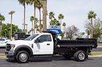 2021 Ford F-550 Regular Cab DRW 4x2, Monroe MTE-Zee Dump Body #21P161 - photo 4